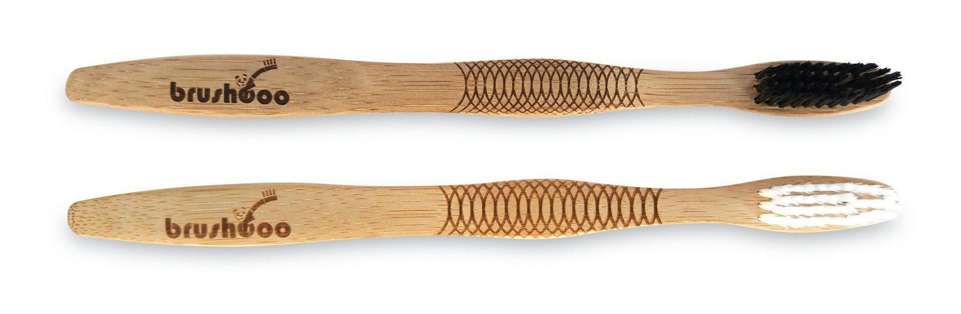 Cepillos de dientes de bambu adultos