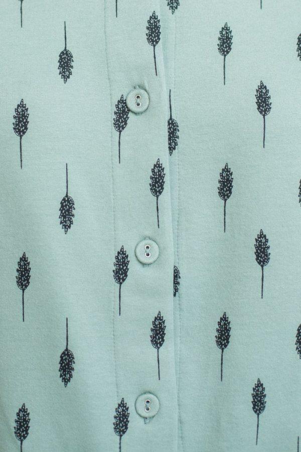Camisa de algodón orgánico estampada