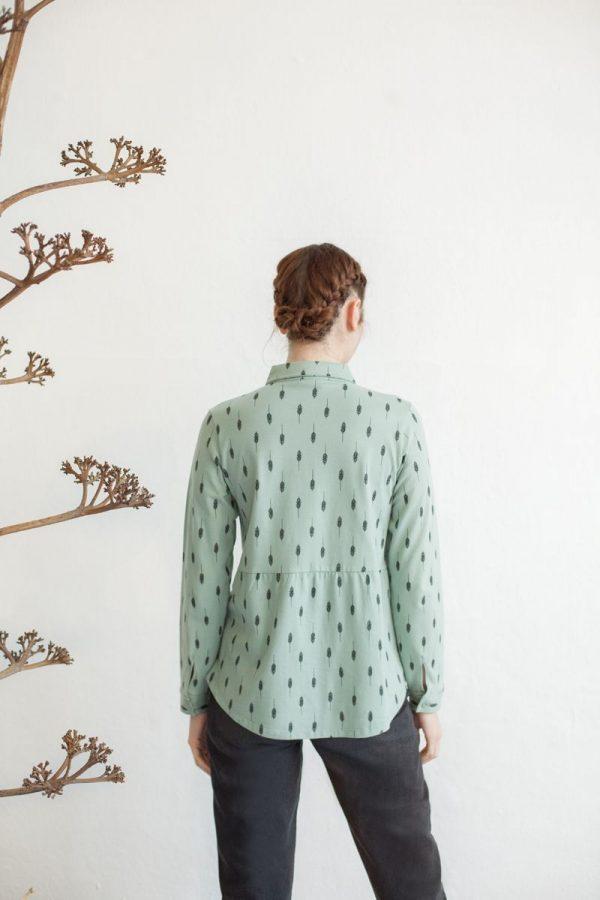 Camisa verde claro
