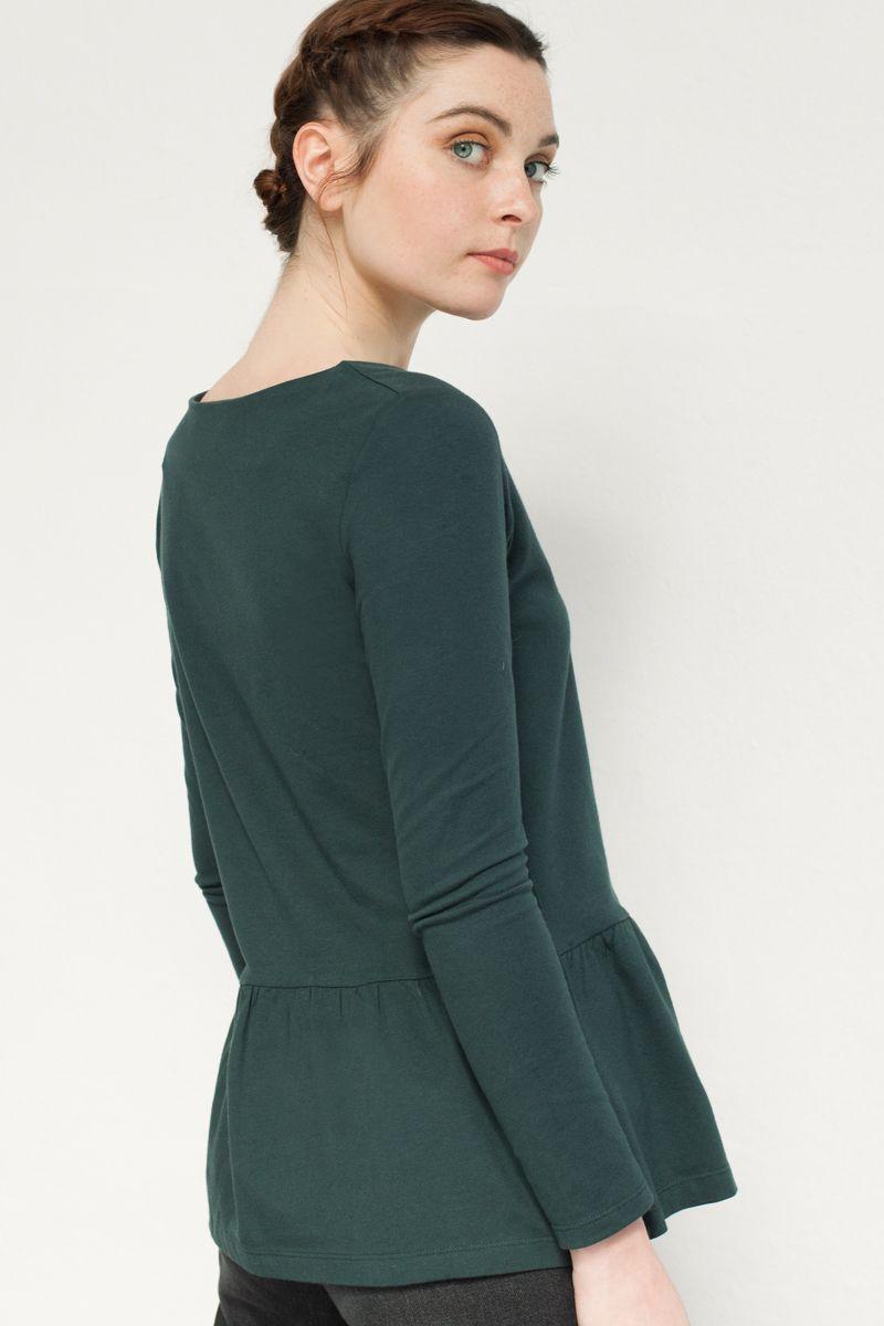 Camiseta verde de mujer