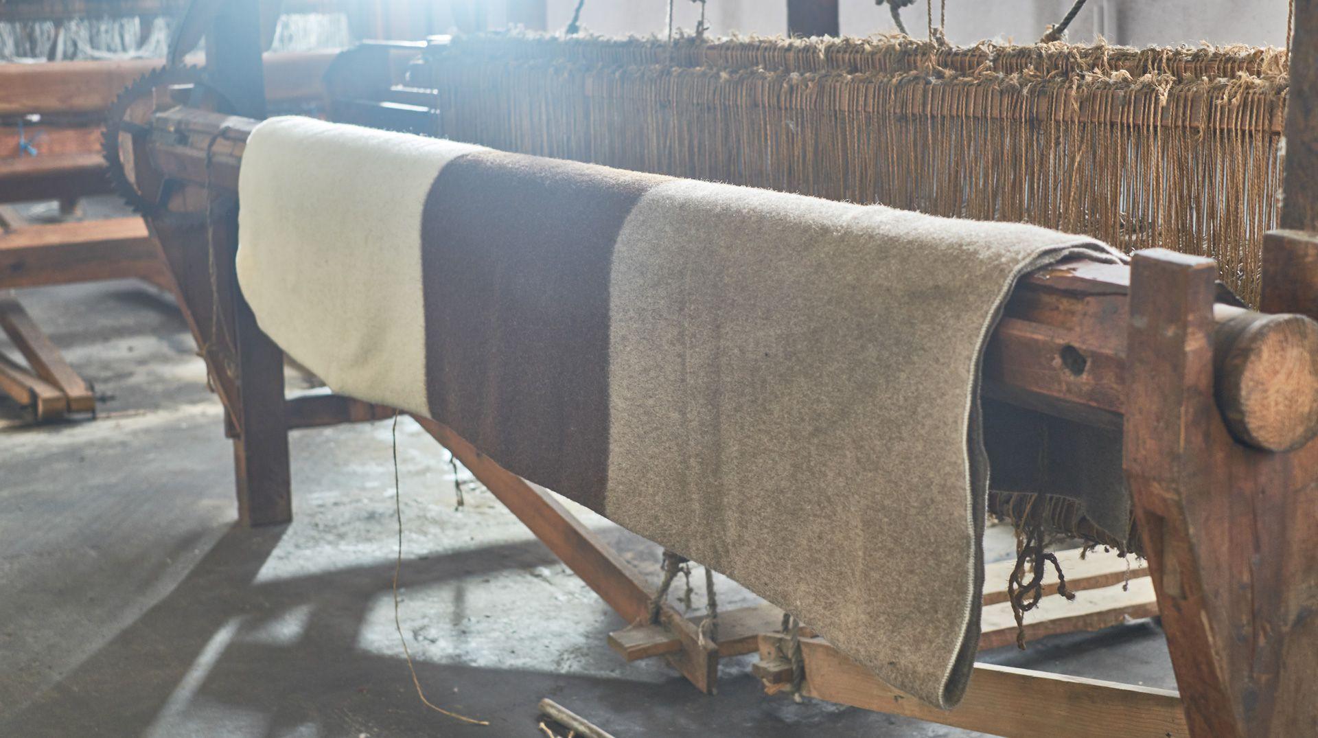 Fábrica de burel de lana de oveja