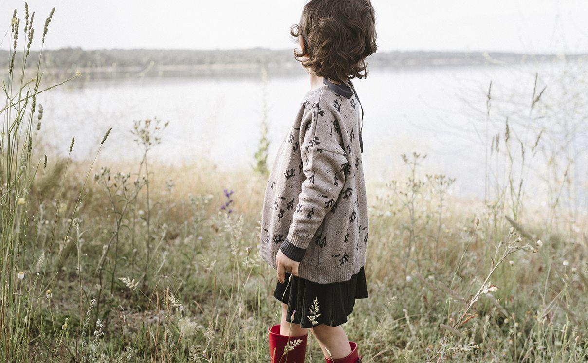 Jersey de lana para niños de Counting Clouds