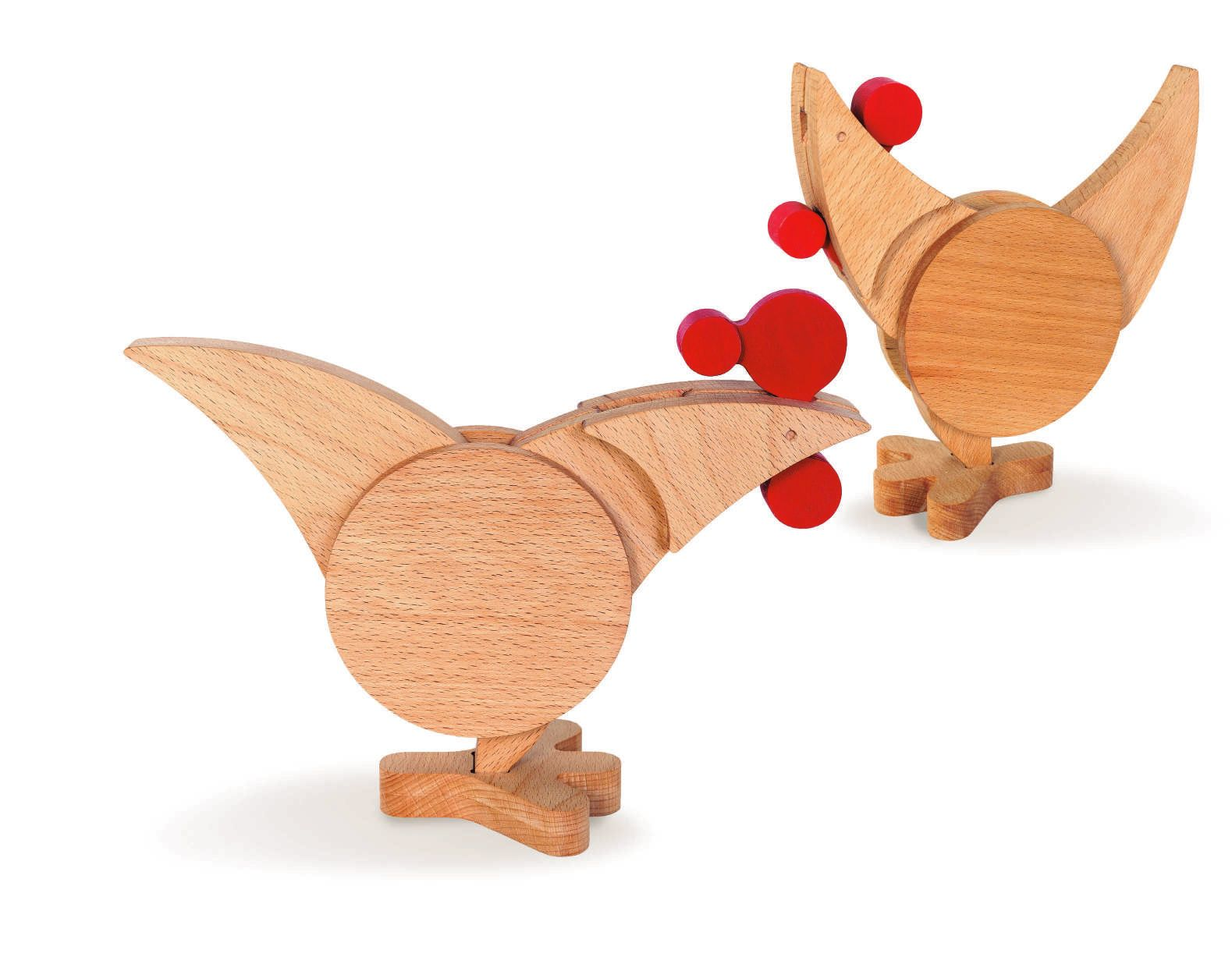 Juguete educativo puzzle de madera