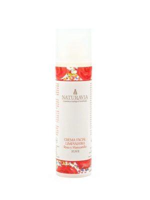 Limpiador facial de rosas y manzanilla