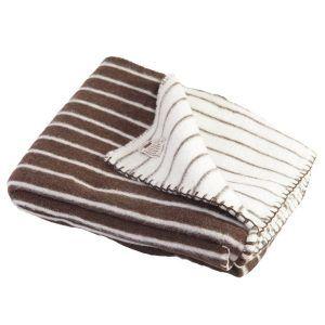 Manta lana gruesa artesanal