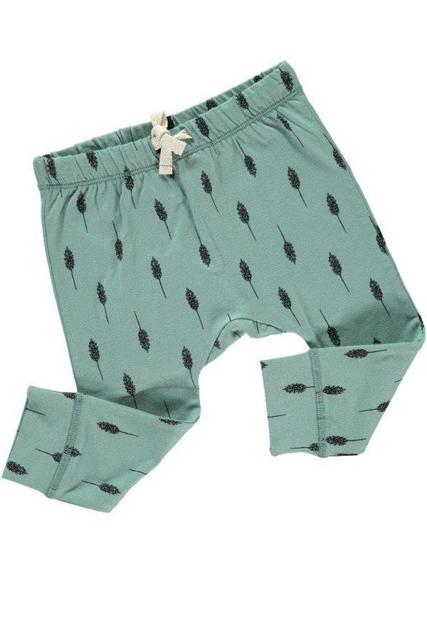 Pantalón infantil de algodón orgánico detalle