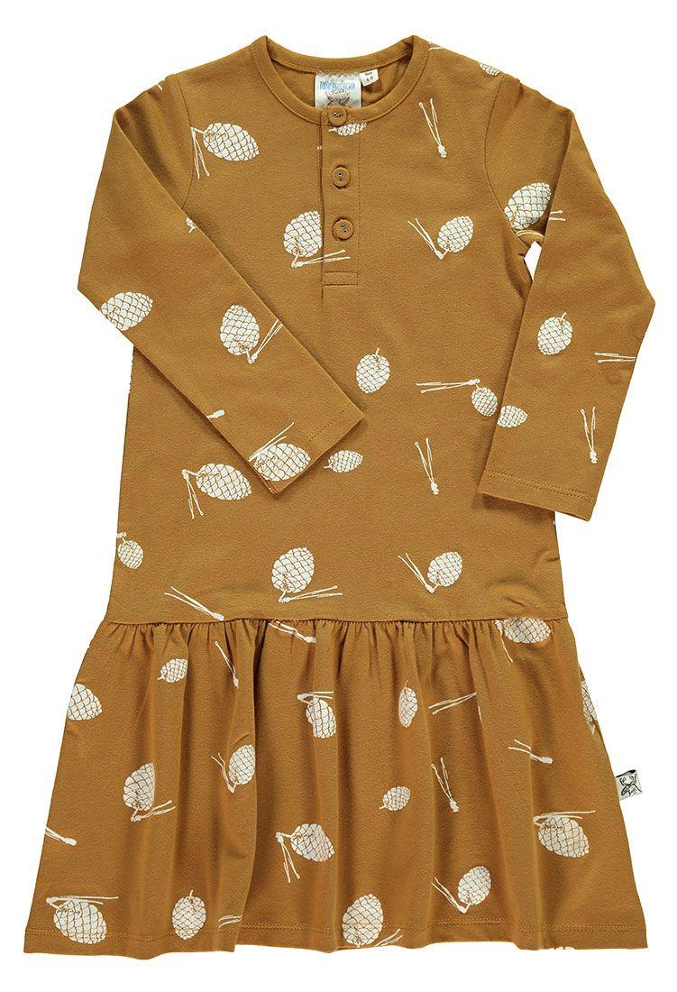 Vestido niña algodón orgánico