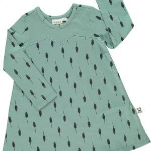 Vestido verde niña