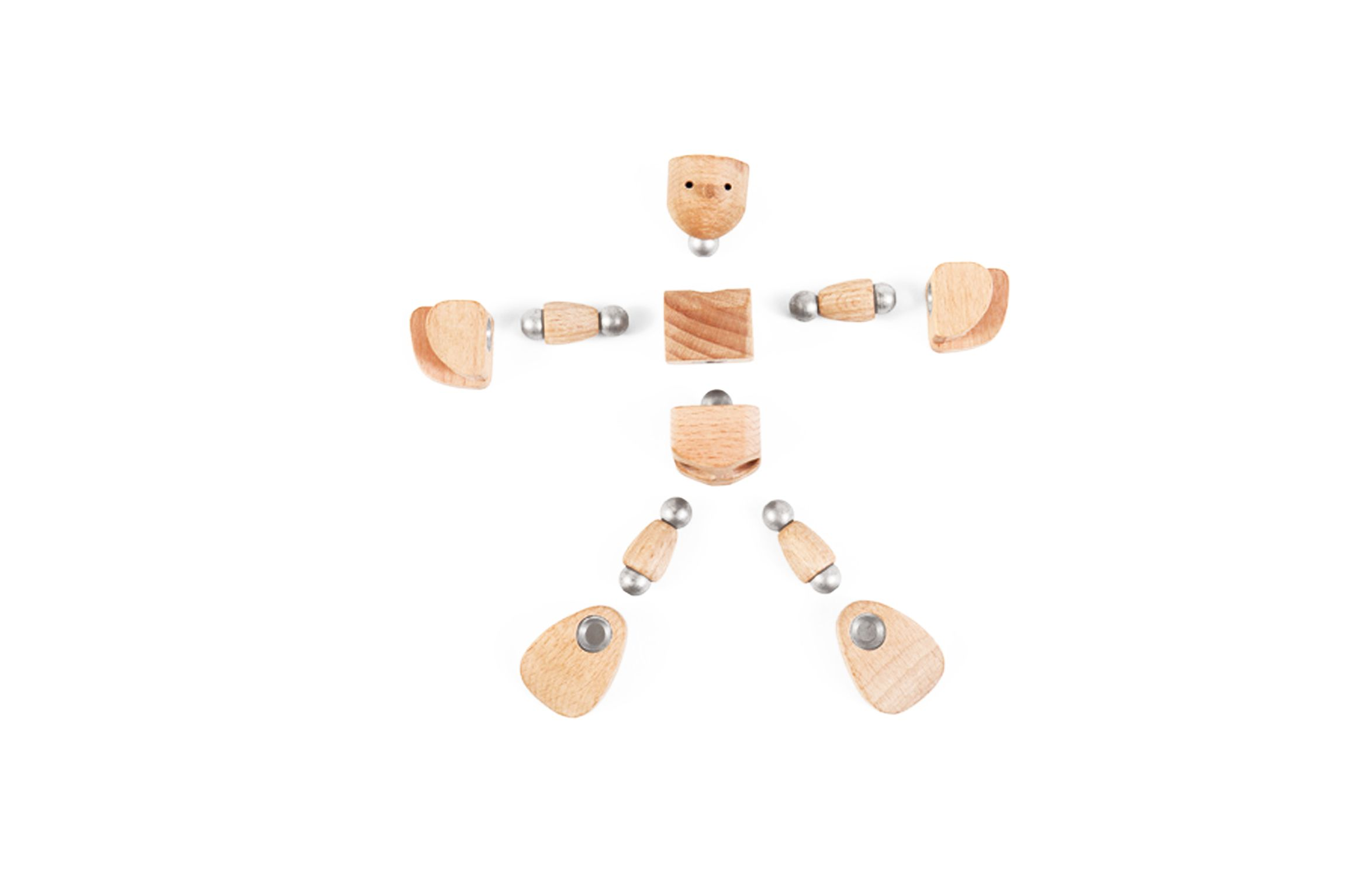 Woonki separado en 11 piezas