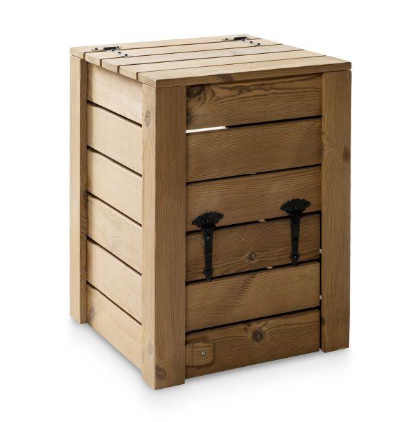 Compostera ecológica para hacer compost lateral