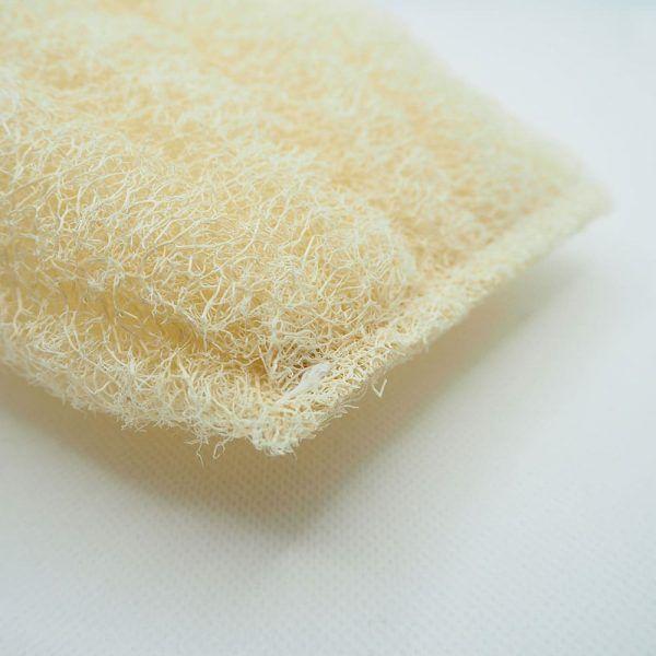 Costura algodón esponja de luffa