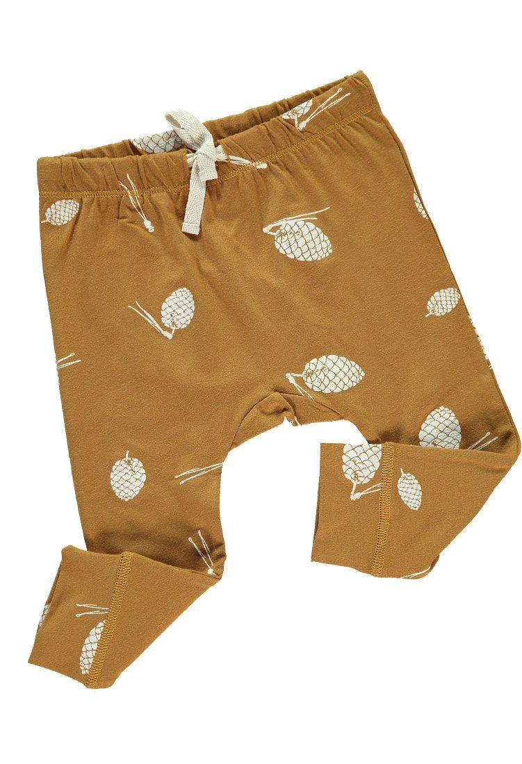 Pantalón bebé algodón orgánico detalle