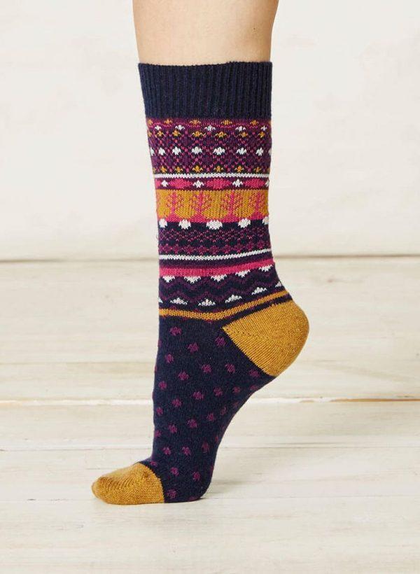 Calcetines calentitos para pies fríos