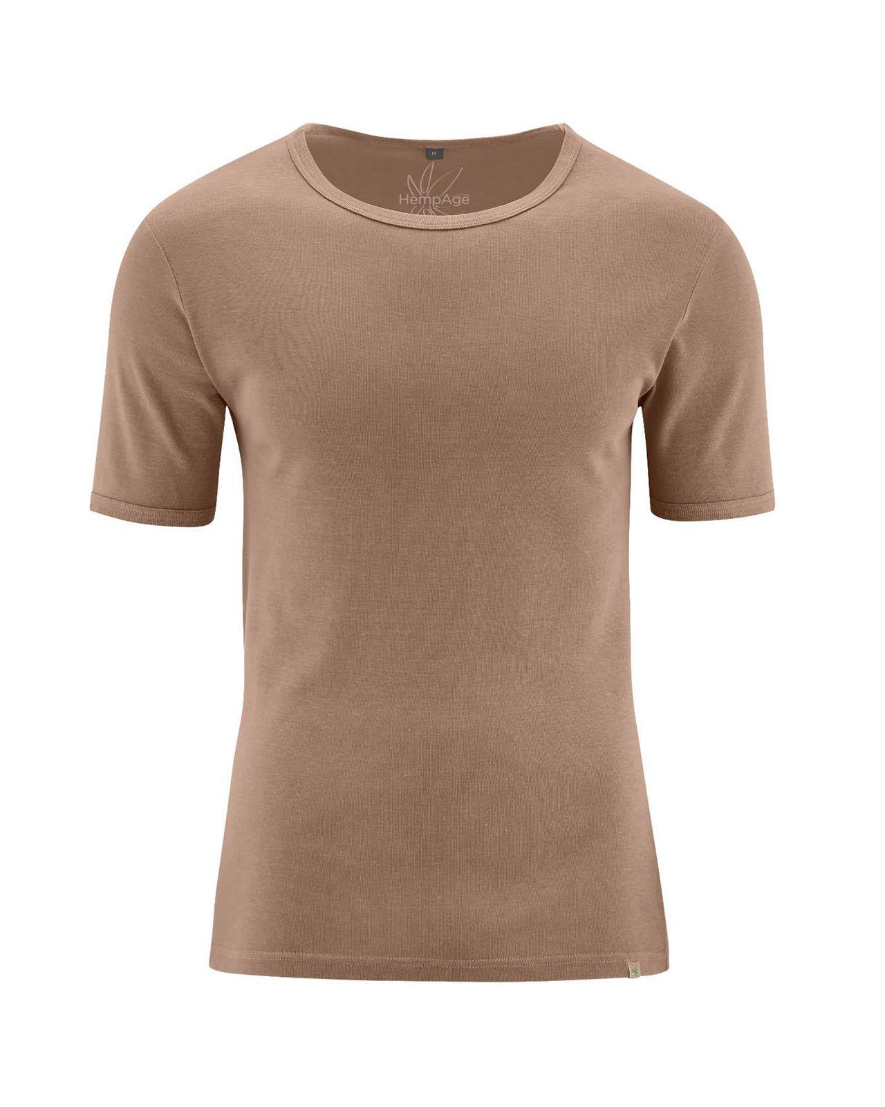 b136c6bc Camiseta manga corta hombre. Camiseta de vestir natural - Fieito