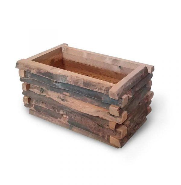 Jardinera de madera para platas de exterior