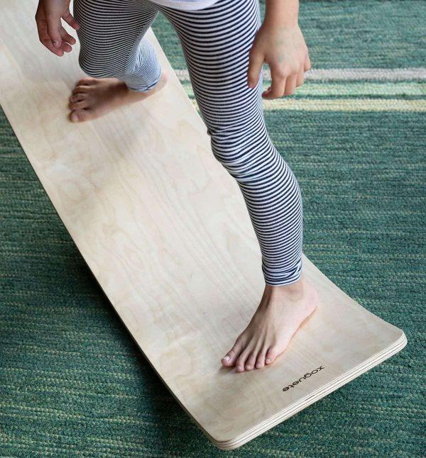 Tabla de equilibrio Montessori