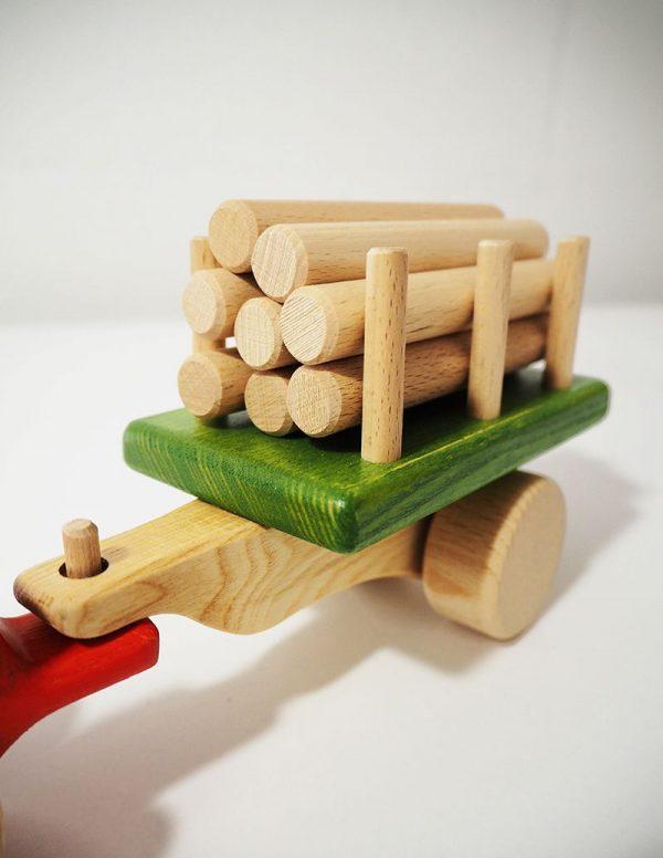 Remolque de tractor de juguete