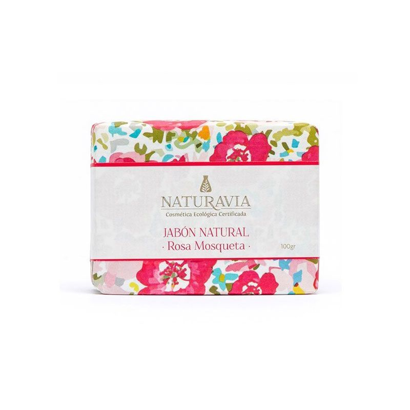 Jabón de rosa mosqueta ecológico 100gr