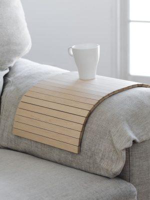 Bandeja arce reposabrazos sofá