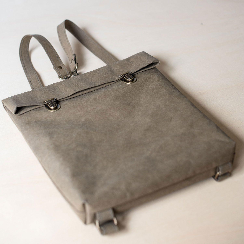 Mochila papel backpack pequeña