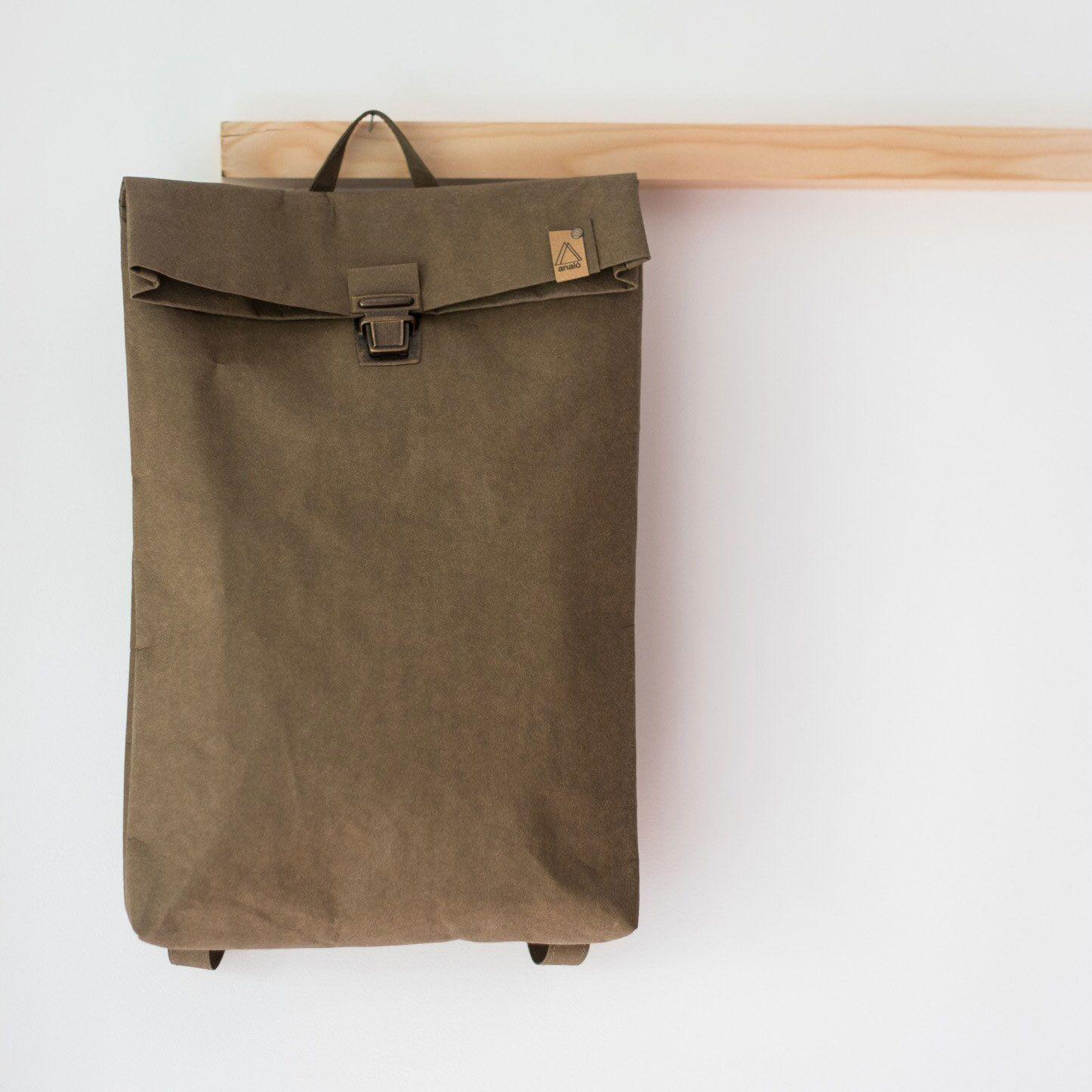 Mochila papel backpack tamaño grande
