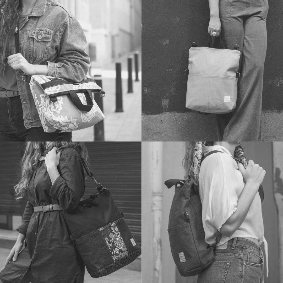 Versiones bolso-mochila Numon