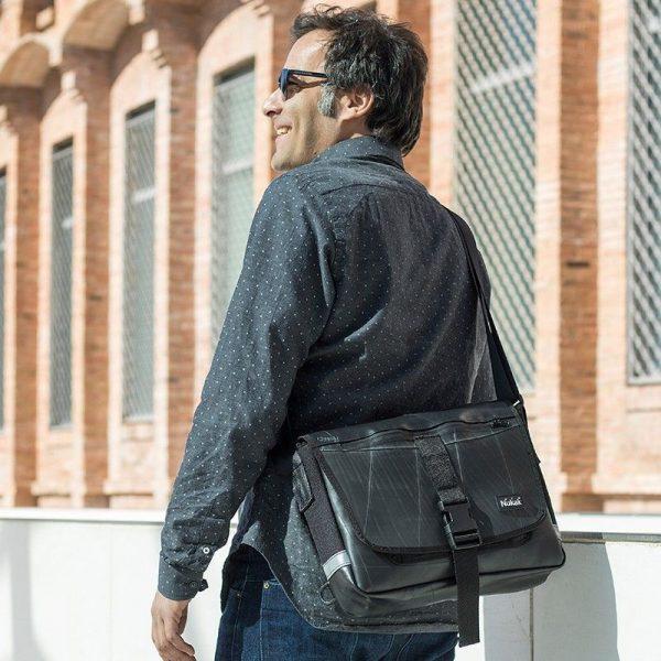 Bandolera bolso hombre