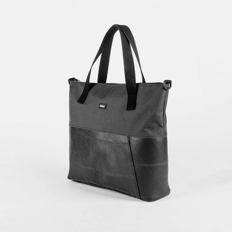 Bolso shopper color negro