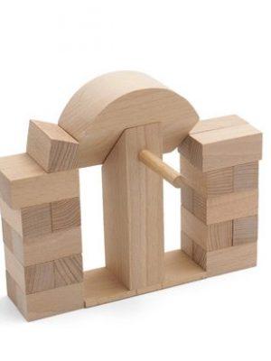 Juego de arquitectura arco de medio punto