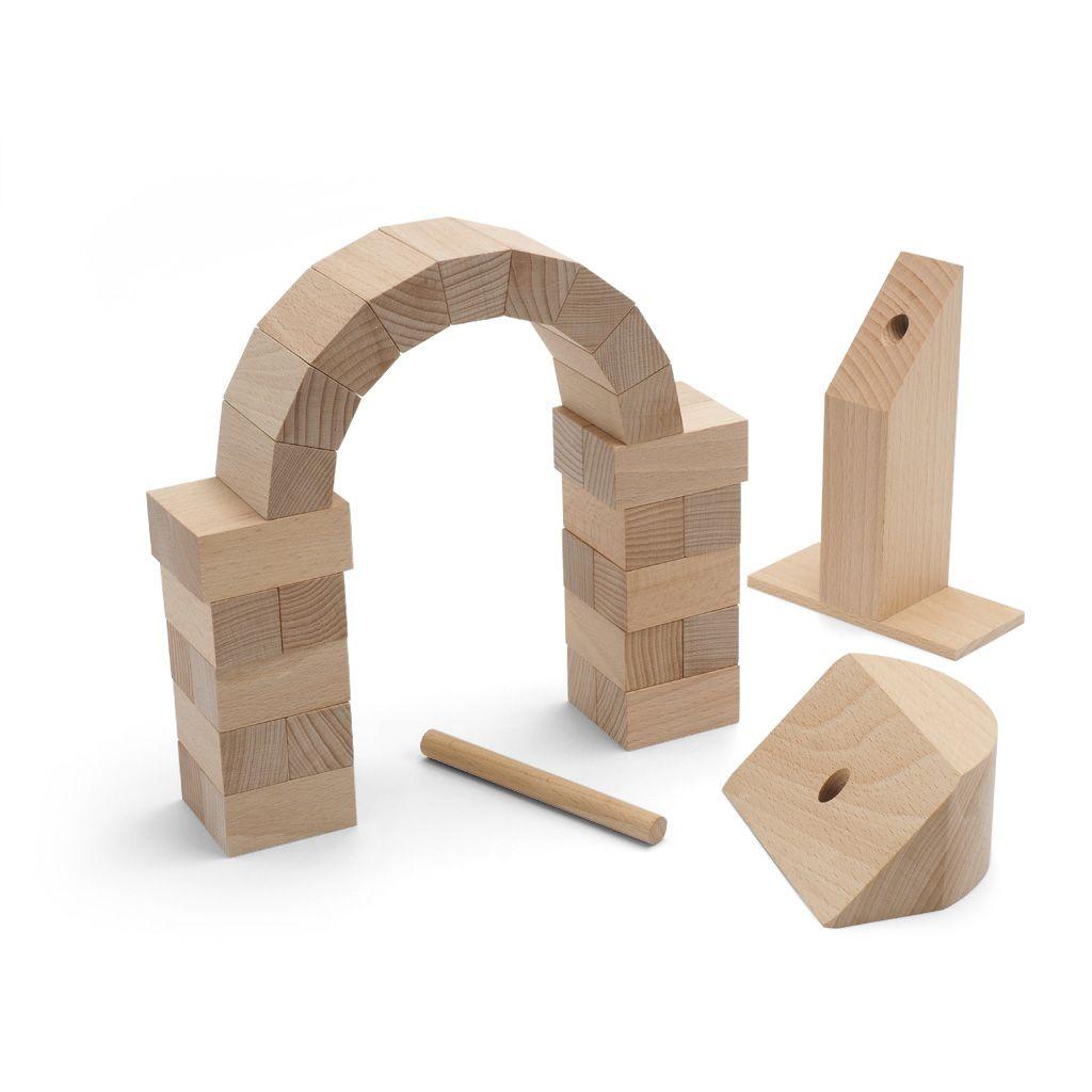 Juego para construir un arco romano