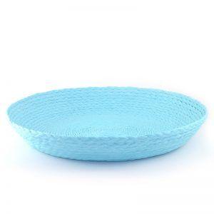 Plato decorativo azul celeste