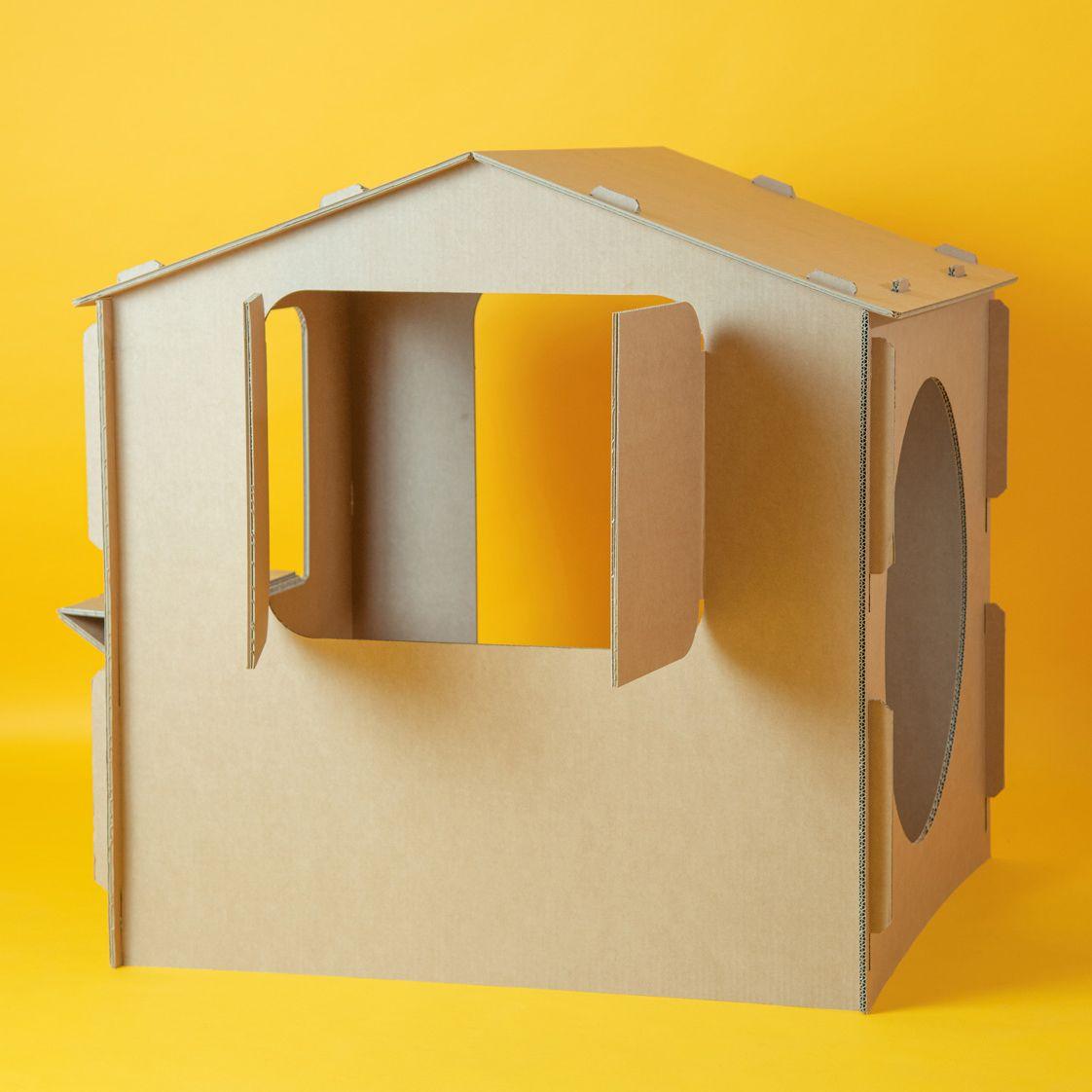 Caseta de cartón para montar
