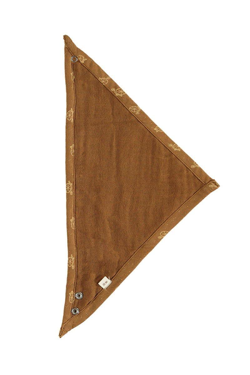 Interior muselina marrón bandanas bebé Tiralahilacha