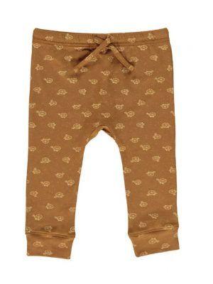 Pantalón bebé de algodón orgánico marrón