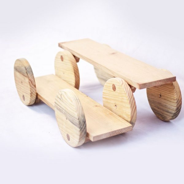 Pedal de madera para desplazarse
