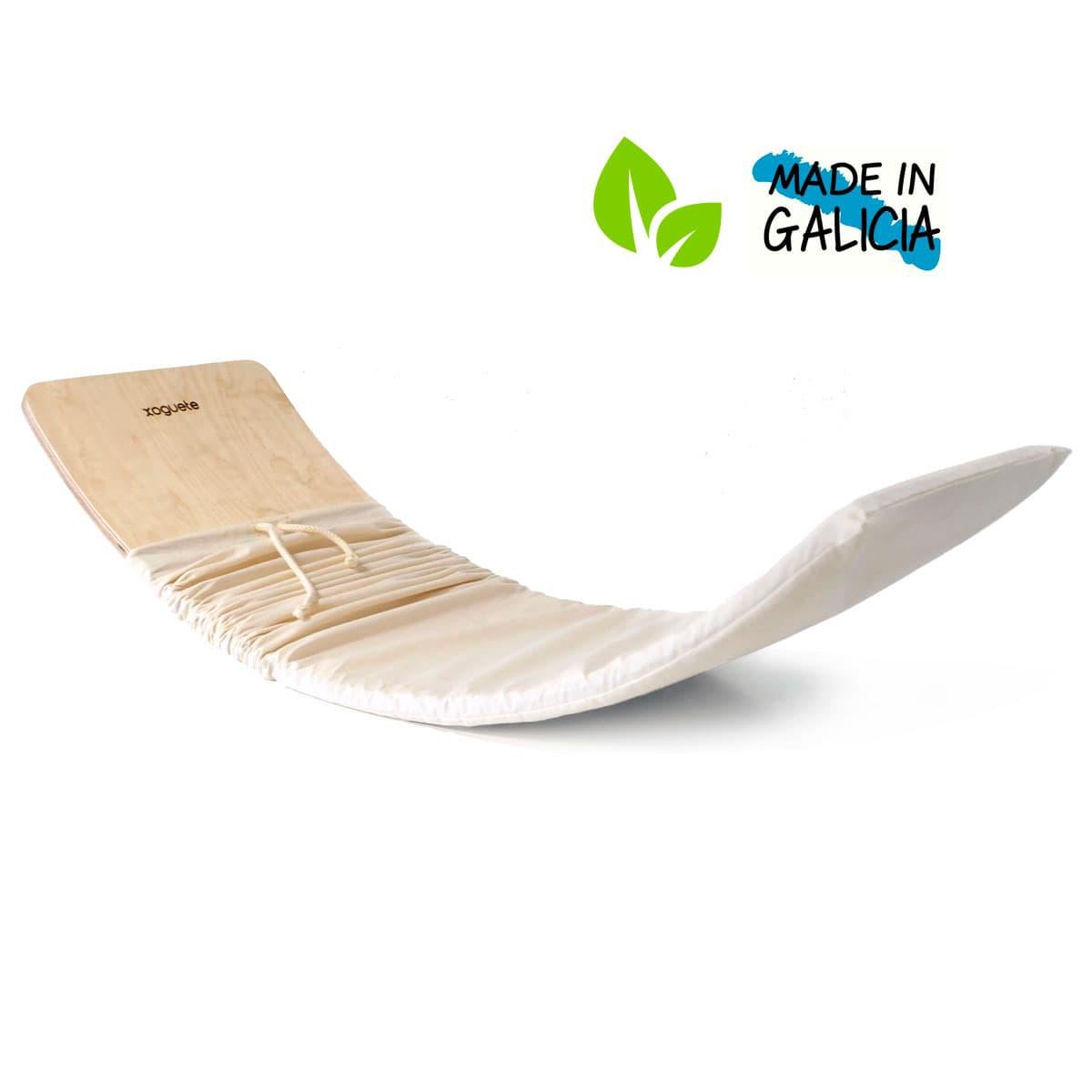 Tabla curva natural ecológica hecha en Galicia