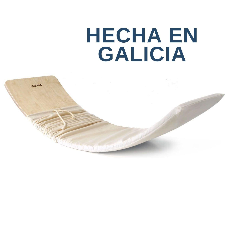 Tabla Curva Natural hecha en Galicia