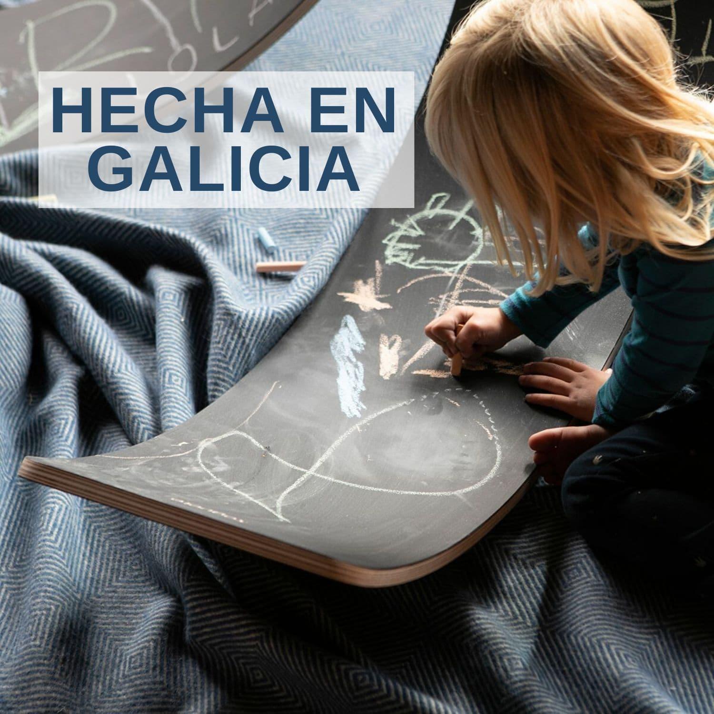 Tabla Curva Pizarra hecha en Galicia