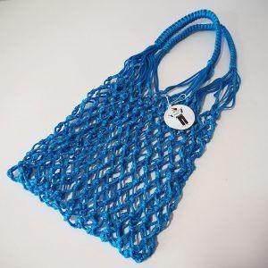 Cholita Corme bolsa azul