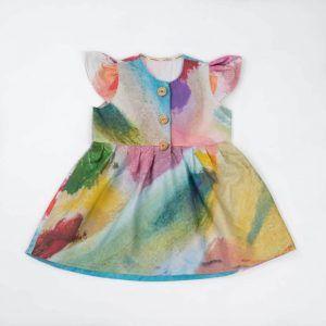 Vestido niña ecológico edición limitada