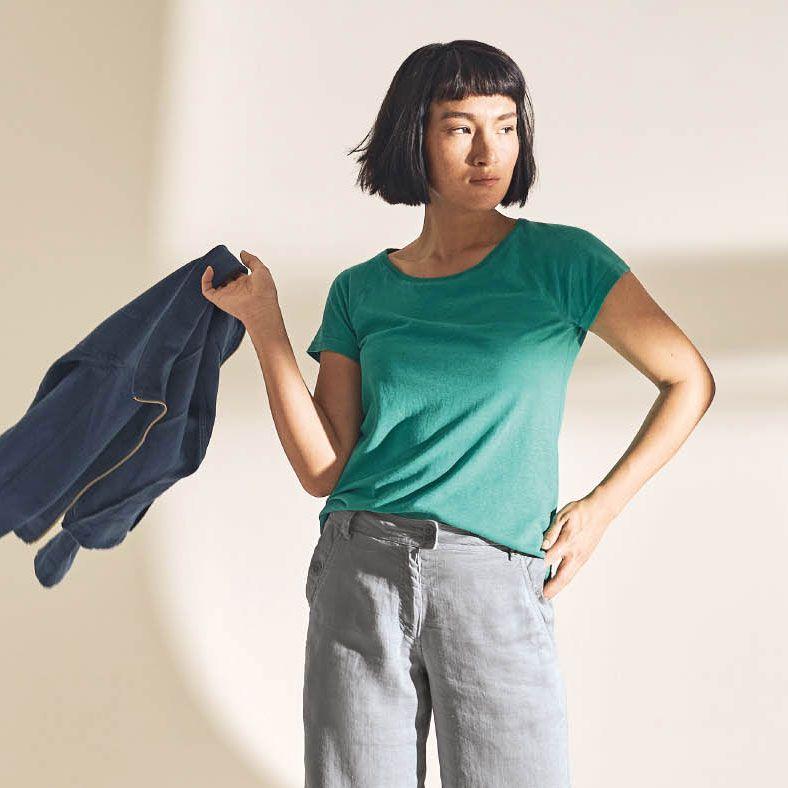 Camiseta ecológica mujer manga corta