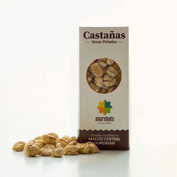 """Castañas deshidratadas """"pilongas"""" de Galicia"""