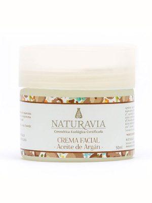Crema aceite de argán ecológica para pieles secas