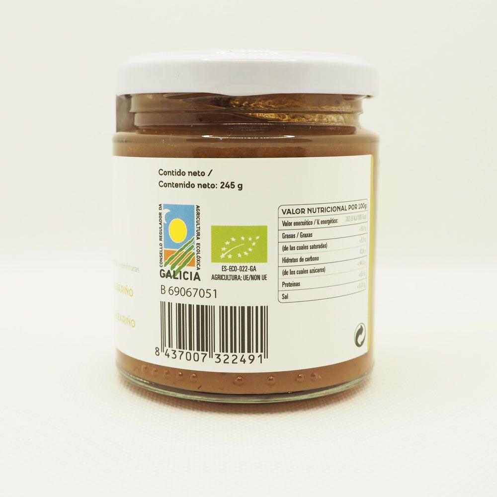 Mermelada de pera al almariño con sello CRAEGA de agricultura ecológica