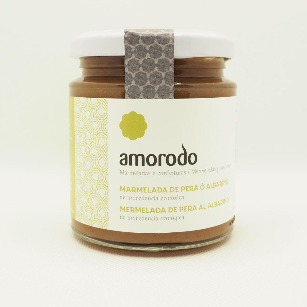 Mermelada de pera al albariño ecológica de Amorodo