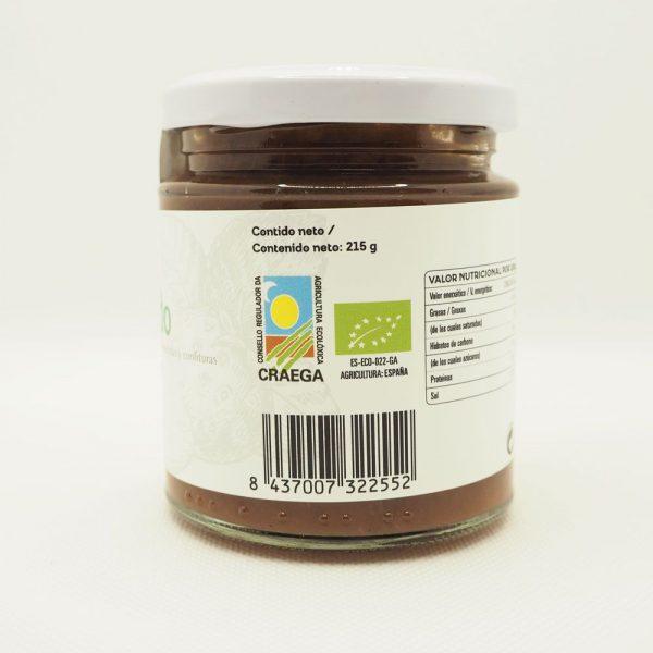 Mermelada de pulpa de fresa con sello CRAEGA de agricultura ecológica