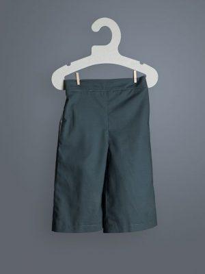 Pantalón ancho tobillero infantil pizarra