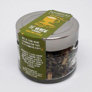Té verde de manzana verde ecológico