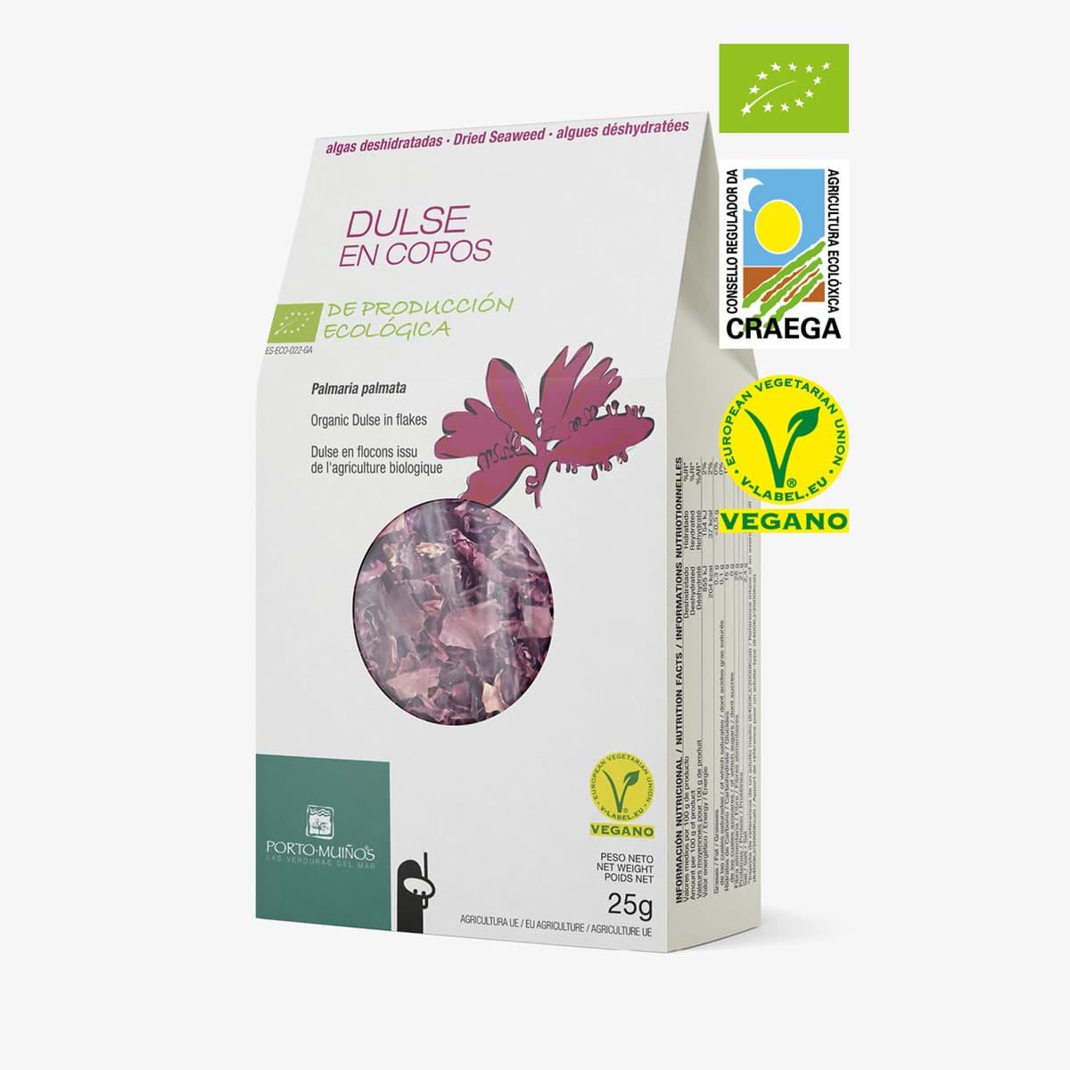 Alga dulse ecológica deshidratada
