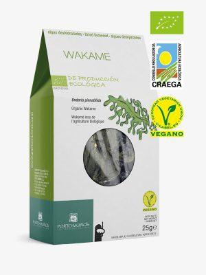 Alga wakame deshidratada ecológica